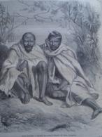 Chef Khonds    KHONDISTAN   India Odisha  - Engraving 1864 TDM1864.2.348 - Estampas & Grabados