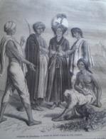 Indigenes Du    KHONDISTAN   India Odisha  - Engraving 1864 TDM1864.2.349 - Estampas & Grabados