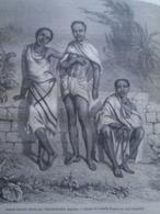 Jeunes Khonds     KHONDISTAN   India Odisha  - Engraving 1864 TDM1864.2.352 - Estampas & Grabados