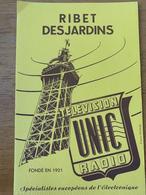 1 BUVARD UNIC RADIO - Papel Secante