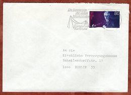 Brief, EF, MS Europahalle Karlsruhe, 1988 (94341) - BRD