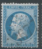 Lot N°55612  Variété/n°22, Oblit GC 3677 Jean-en-Royans, Drôme (25), Ind 4, Tache Blanche P De POSTES - 1862 Napoleon III