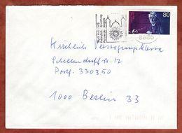 Brief, EF, MS Augsburg, 1988 (94342) - BRD