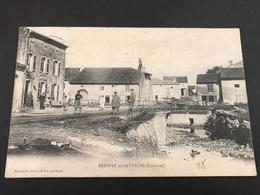 CPA 1900/1920 Souvenir De Fresnes En Saulnois Château Salins - France