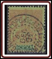 Dahomey 1899-1905 - N° 10 (YT) N° 10 (AM) Oblitéré. - Usados