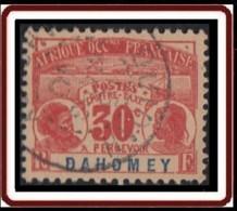 Dahomey 1906-1907 - Timbre-taxe N° 5 (YT) N° 5 (AM) Oblitéré. - Usados