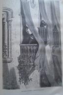 Les Balcons A Grenade -   Granada -   Spain Espana, Engraving 1864 TDM1864.2.361 - Estampas & Grabados