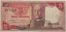 Angola - 20 Escudos - 1972 - PICK 99 - TB+ - Angola