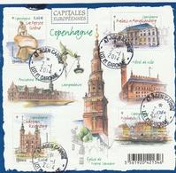 FRANCE 2012 BLOC OBLITERE CAPITALES EUROPEENNES COPENHAGUE - F4637  F 4637 - - Blocs & Feuillets