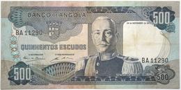 Angola - 500 Escudos - 1977 - PICK 102 - TTB - Angola