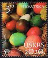 Croatia - 2020 - Easter - Mint Stamp - Croatia