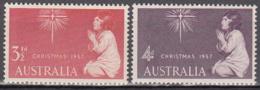 Australie 242 à 243 ** - 1952-65 Elizabeth II: Ediciones Pre-Decimales