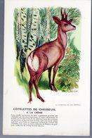 Image -recette...pour Le Corps Médical.. Offerte Par BIOLACTYL:   Chevreuil (ill Van Rompaey) (M0123) - Other