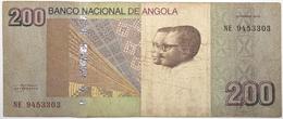 Angola - 200 Kwanzas - 2012 - PICK 154 - TB - Angola