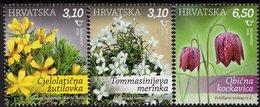 Croatia - 2020 - Flora - Flowers - Mint Stamp Set - Croatia