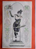 CPA. FEMME STYLE ART NOUVEAU N°869 - Illustrateur? (D1.552) - Women