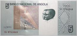 Angola - 5 Kwanzas - 2012 - PICK 151 Aa - NEUF - Angola