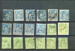 40088) France Collection - 1900-29 Blanc