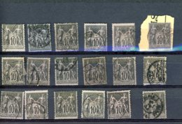 40092) France Collection - 1900-29 Blanc