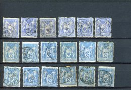 40093) France Collection - 1900-29 Blanc