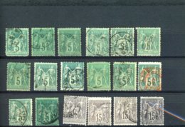 40094) France Collection - 1900-29 Blanc
