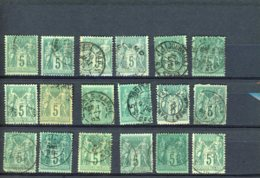 40095) France Collection - 1900-29 Blanc