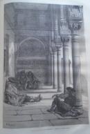 ALHAMBRA   Grenada  -   Granada -   Spain Espana, Engraving 1864 TDM1864.2.375 - Estampas & Grabados