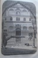 ALHAMBRA  Patio De Los Arrayanes  Grenada  -   Granada -   Spain Espana, Engraving 1864 TDM1864.2.377 - Estampas & Grabados