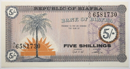 Biafra - 5 Shillings - 1968 - PICK 1a - NEUF - Other - Africa