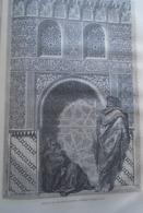 ALHAMBRA  Porte De La Torre De Las Infantas  Grenada  -   Granada -   Spain Espana, Engraving 1864 TDM1864.2.381 - Estampas & Grabados