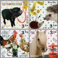 Croatia - 2020 - Pigmy Animals - Mint Stamp Set - Croatia
