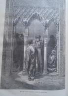ALHAMBRA  Porte De La Sala De Justitia  Grenada  -   Granada -   Spain Espana, Engraving 1864 TDM1864.2.384 - Estampas & Grabados