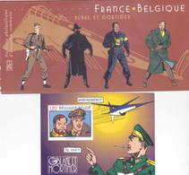 20139  Bloc  France-Belgique - Documents De La Poste