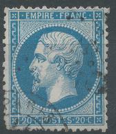 Lot N°55619  N°22, Oblit Cachet à Date De PARIS Et étoile - 1862 Napoleon III