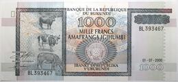 Burundi - 1000 Francs - 2000 - PICK 39c - NEUF - Burundi