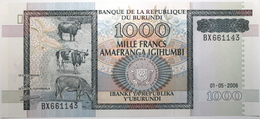 Burundi - 1000 Francs - 2006 - PICK 39d - NEUF - Burundi