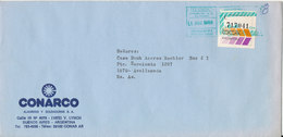 Argentina Domestic Cover Sent 1-8-1988 Single Franked - Argentina