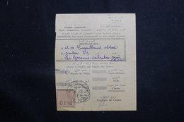 MAROC - Récépissé De Kasba Tadla Pour La France D'un Envoi Recommandé Ou En Valeurs Déclarées En 1957 - L 61328 - Marokko (1956-...)