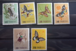 Taiwan Mi 282-287 Ancient Chinese Art Treasures From The Palace Museum  -  1958y. - Unused Stamps