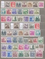 AUSTRIA OSTERREICH 1957-1970 Definitive MNH(**) Stamps READ #21783 - Austria