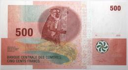 Comores - 500 Francs - 2006 - PICK 15b - NEUF - Comores