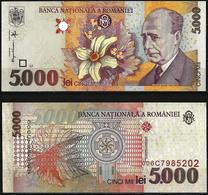5.000 LEI BANKNOTE FROM ROMANIA EDITED IN 1998 - Romania