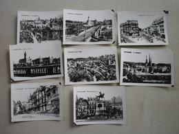 Lot De 8 Petites Cartes Photos LUXEMBOURG - Luxemburgo - Ciudad