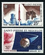 St.Pedro Y Miquelón Nº A-33/4 Nuevo Cat.15,40€ - Aéreo