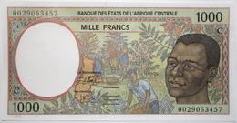 Congo - 1000 Francs - 2000 - PICK 102Cg - NEUF - États D'Afrique Centrale