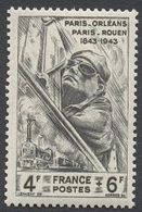 France N°618  Neuf ** 1944 - France