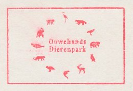 Meter Cut Netherlands 1997 Bird - Owl  - Monkey - Lion - Tiger - Bear - Stag - Zoo Rhenen - Vogels