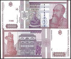 10.000 LEI BANKNOTE FROM ROMANIA EDITED IN FEBRUARY 1994 - Romania