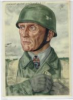Unsere Luftlandetruppen -  Fallschirmjäger Wilhelm Bittrich - Leutnant SS-Panzer-Division Hohenstaufen - Waffen-SS - Guerre 1939-45