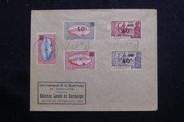 GUADELOUPE - Enveloppe FDC En 1943 - Surchargés - L 61337 - Lettres & Documents